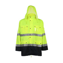 High Visibility Reflective Rain Gear with Wateproof